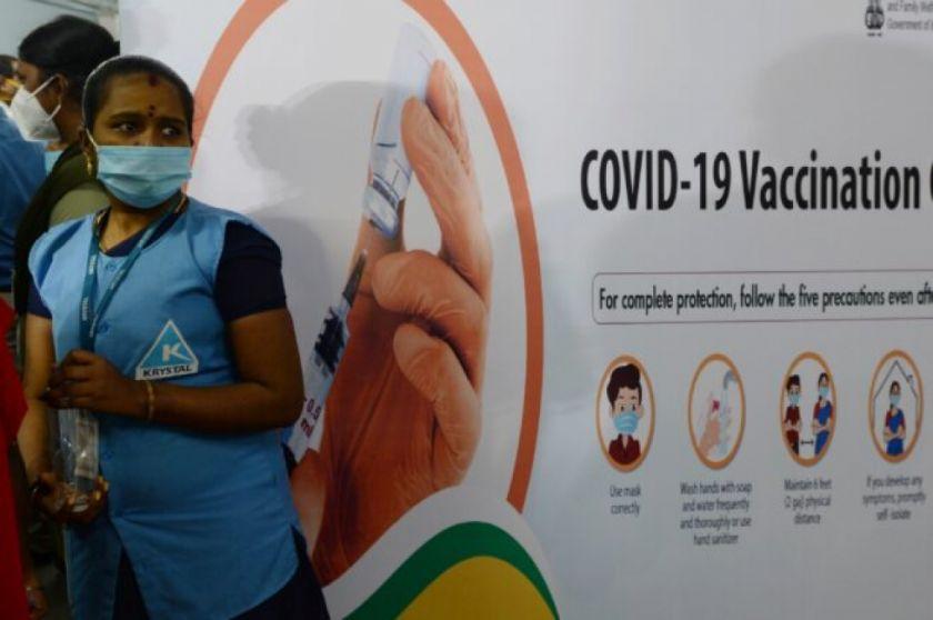 Así es la gigantesca campaña de vacunación de India en cifras
