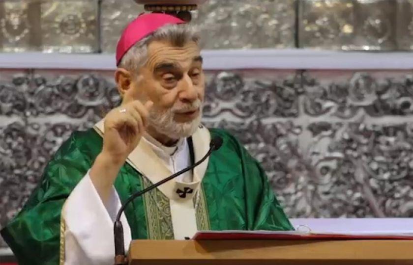 Monseñor Sergio Gualberti ve descontrol de la pandemia e interpela a candidatos