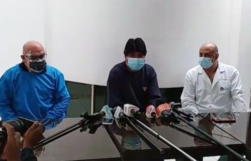 Evo Morales dice que venció al coronavirus y recibe alta médica