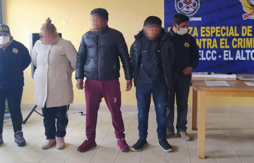 El Alto: Capturan a autores de la muerte de un policía de Diprove víctima de 11 puñaladas