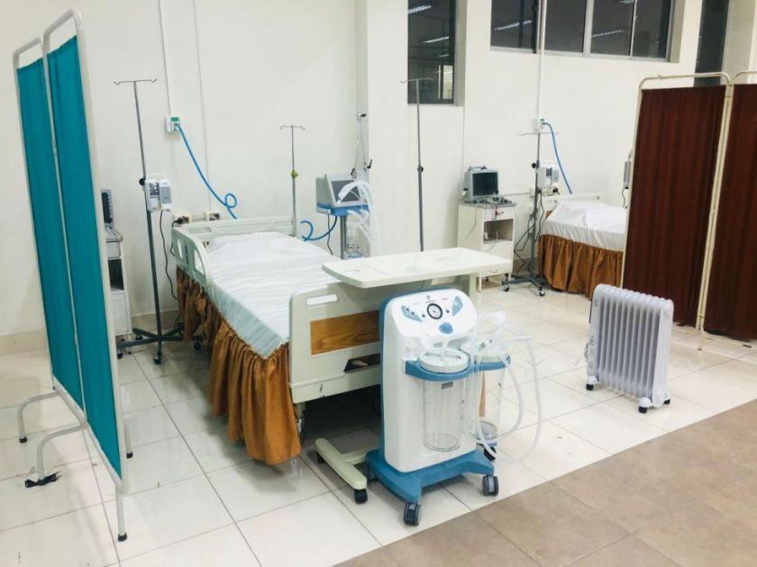 Pacientes siguen llegando a Terapia Intensiva al Centro Covid Departamental