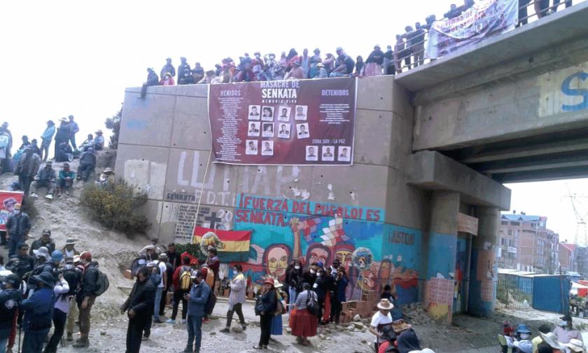 Caso Senkata: Juez de El Alto fija audiencia presencial para el general Valverde