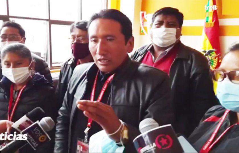 La Paz: Magisterio rural pide destitución del viceministro de Educación Regular