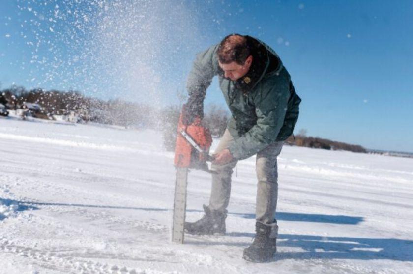 Los inviernos más cálidos jaquean a los caminos de hielo de Canadá