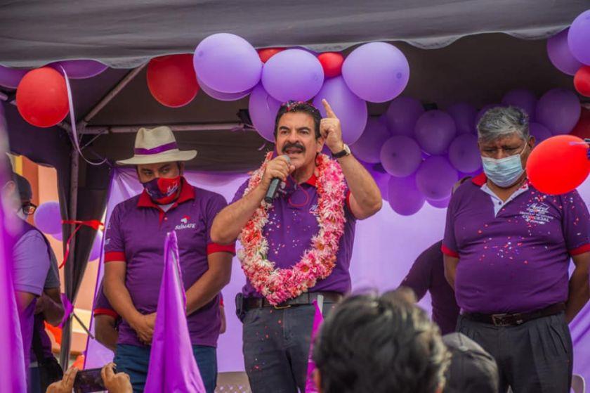 El TSJ rechaza recurso de Reyes Villa y su candidatura se encuentra en suspenso