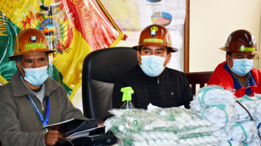 Mineros piden vacunas antiCovid-19 con prioridad por padecer enfermedades de base