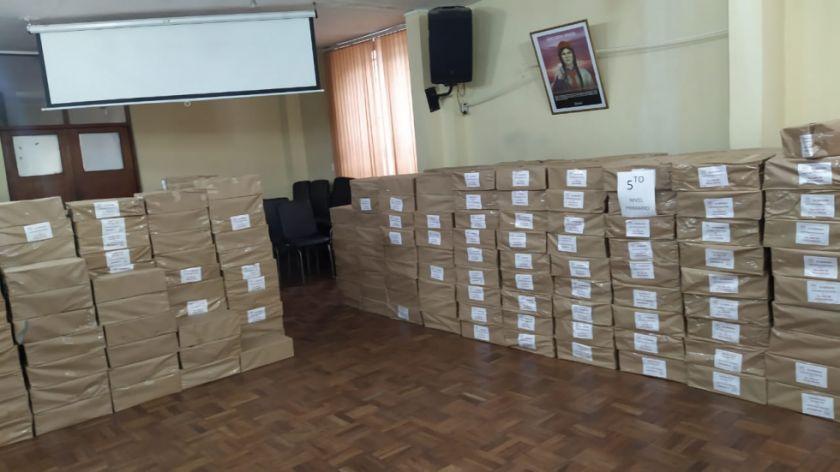 En Potosí 30 de los 33 distritos ya tiene los textos educativos