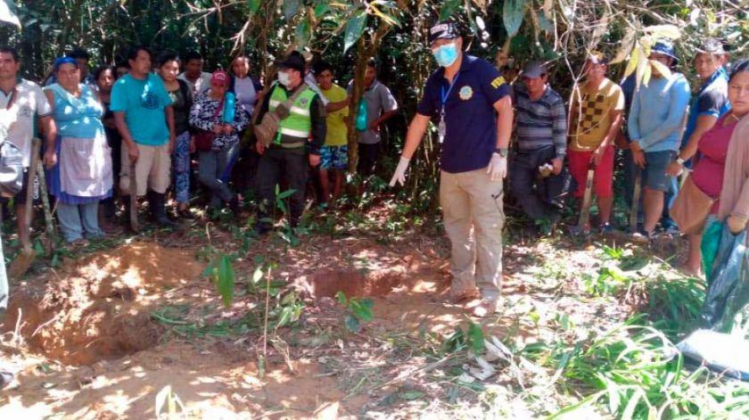 Hallan enterrado el cadáver de una joven desaparecida hace un año
