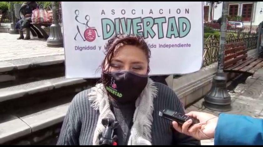Personas con discapacidad preparan foro debate para candidatos a la Alcaldía