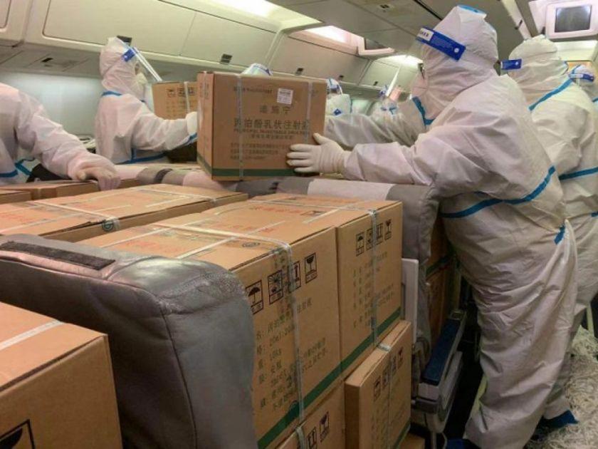 Gobierno anuncia que hoy llegarán 23 toneladas de medicamentos desde China para combatir el coronavirus