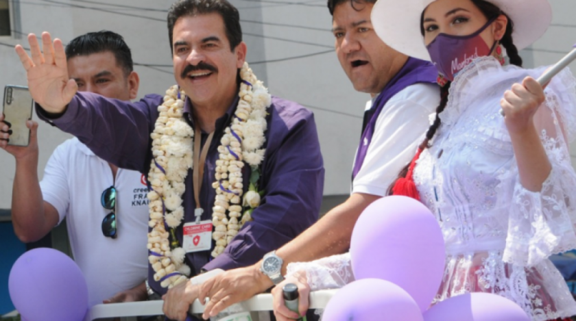 Según la norma electoral, se puede corregir la inhabilitación de Manfred Reyes Villa