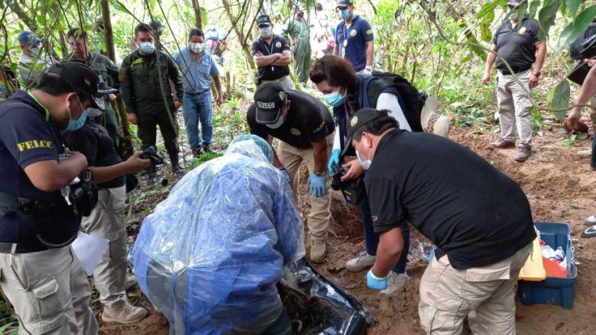 Hallan el cadáver de una tercera mujer enterrada en un mismo lugar del Trópico