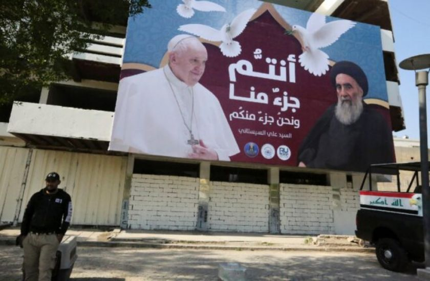 Papa Francisco aboga por la reconciliación en Irak tras años de guerras