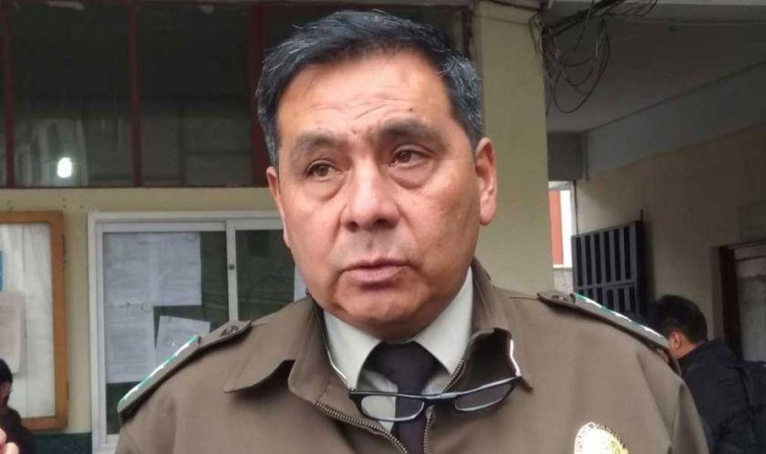 Policía dispone baja definitiva del exjefe de la FELCC, Iván Rojas
