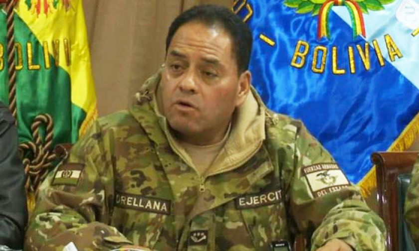Reportan que excomandante Orellana registró salida hacia Colombia el año pasado