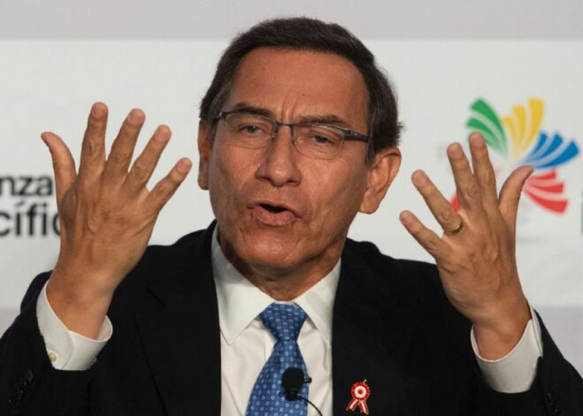 Justicia peruana descarta prisión preventiva para expresidente Vizcarra