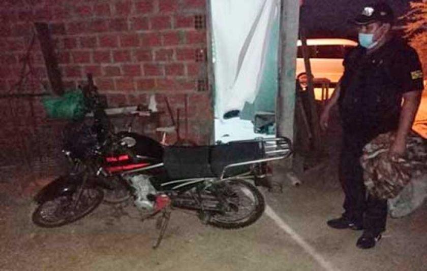 Capturan a presuntos asesinos de mototaxista en Montero
