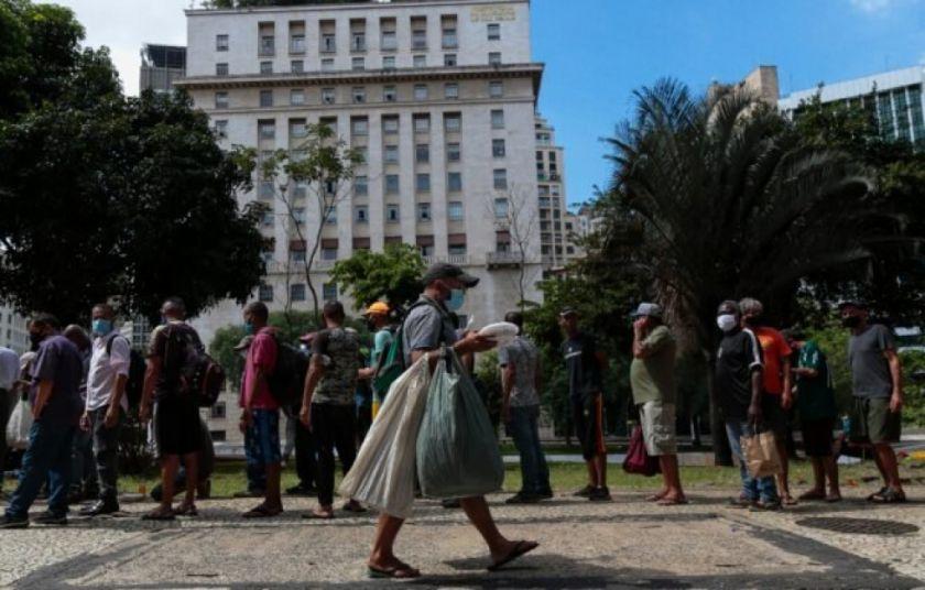El hambre se abre paso en un Brasil azotado por la pandemia