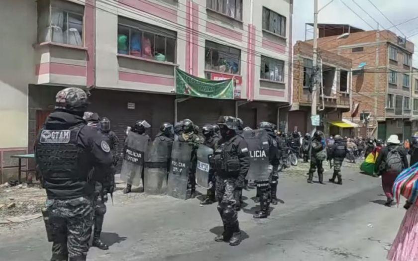 Enfrentamiento en Yungas deja heridos, uno de ellos perdió sus manos
