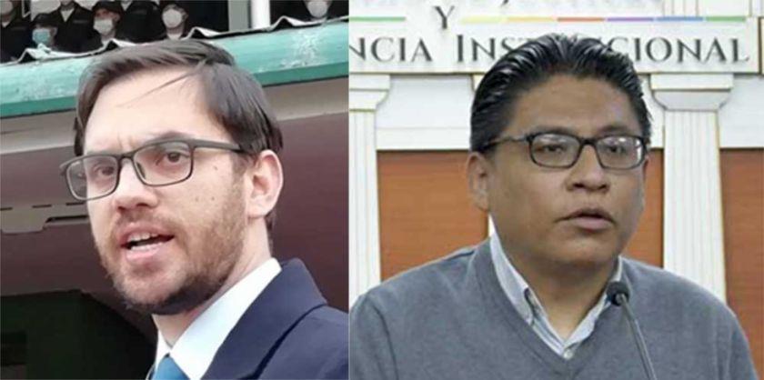 Los ministros de Gobierno y Justicia se excusan en asistir a interpelación por aprehensión a exautoridades