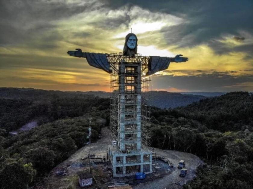 Brasil tendrá un nuevo Cristo gigante, más alto que el de Rio