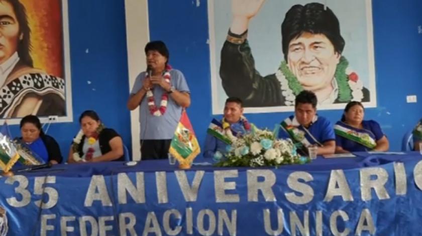 Evo Morales avizora derrota del MAS en el balotaje, pero aspira a ganar en un Departamento