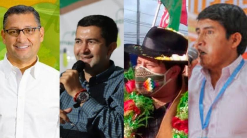 Opositores vencen en Tarija y Chuquisaca, en La Paz y Pando llevan la delantera