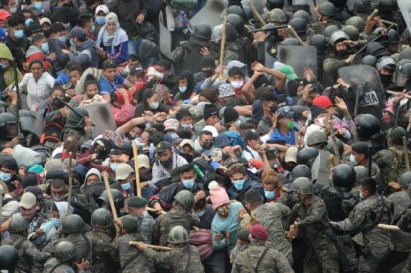 Guatemala niega que haya acuerdo con EEUU para aumentar tropas en fronteras
