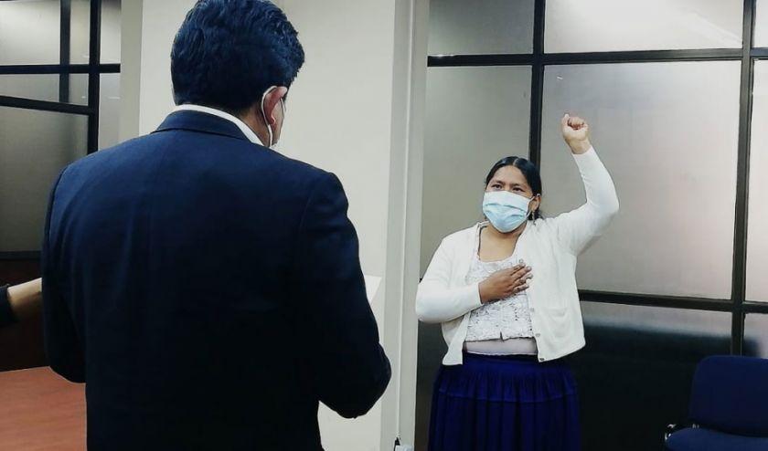 Arminda Choque Paca es la nueva Directora General de AASANA
