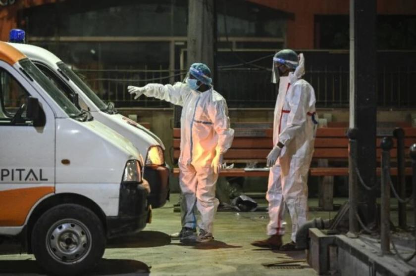 La India registra 315.000 nuevos casos de coronavirus en 24 horas, un récord mundial