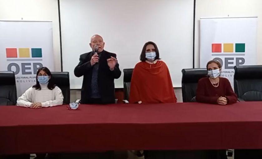 Hassenteufel es elegido como Presidente del TSE y Gutiérrez es la Vicepresidenta