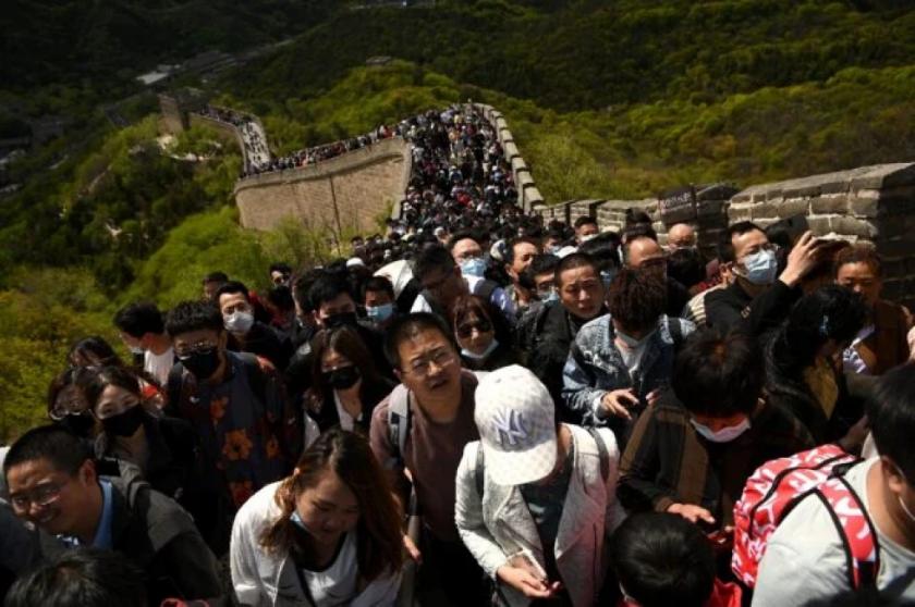 Atascos y turismo en China, donde la pandemia parece quedar atrás