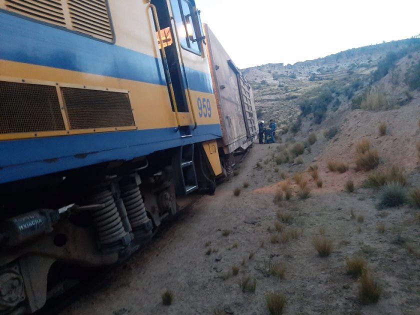 Octogenaria sobrevive tras ser atropellada por un tren