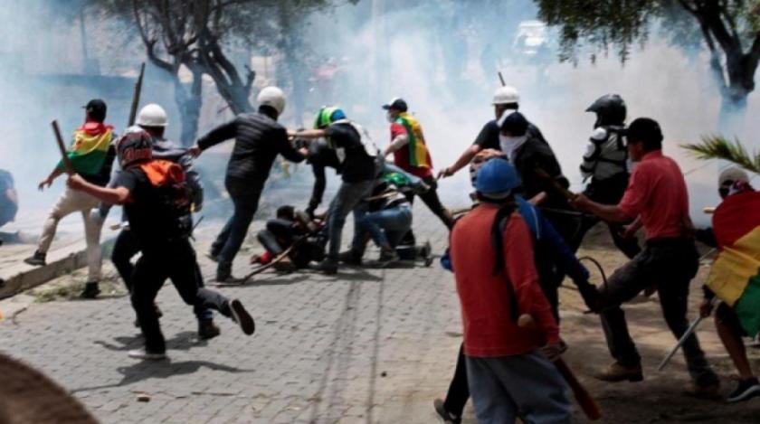 """MAS refuerza teoría de supuesto """"golpe de estado"""" en organismos internacionales"""
