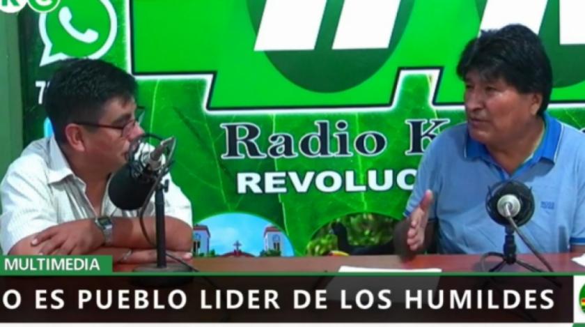 Evo Morales acusa a la Unión Europea y a la Iglesia Católica de participar en supuesto golpe de estado