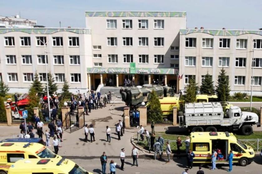 Reportan que hay al menos 7 muertos en un tiroteo en una escuela de Rusia