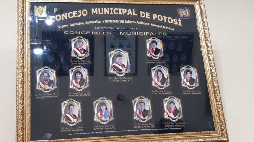 Cuadro del Concejo Municipal no incluye a titulares