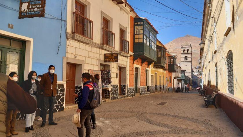 Potosí vuelve a acercarse a la cooperación internacional