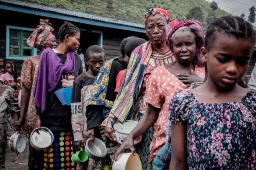 Goma se vacía ante la amenaza del volcán Nyiragongo en RD Congo