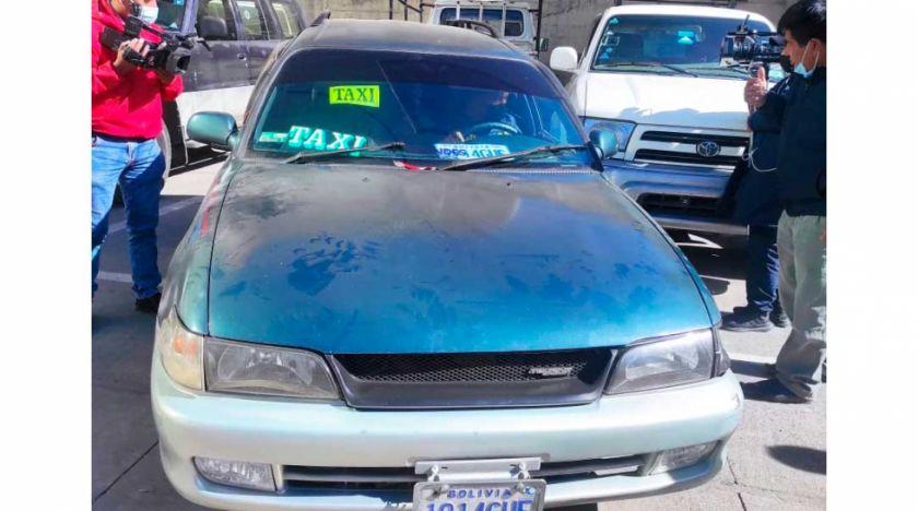 La Paz: Capturan a conductor de taxi acusado de dopar y robar a sus víctimas