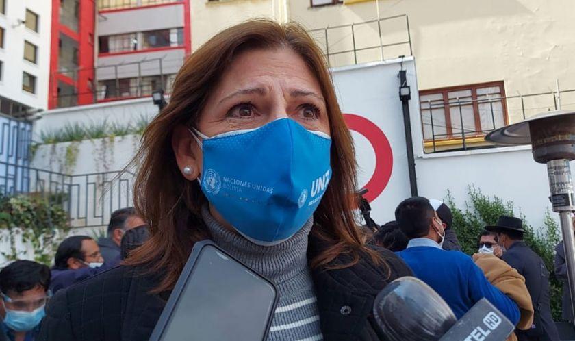 Coordinadora de ONU afirma que Bolivia fue 'muy eficiente' al no confiarse en una sola fuente de vacunas