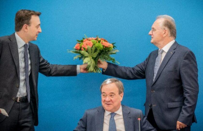 Los conservadores alemanes recuperan impulso en carrera por la sucesión de Merkel