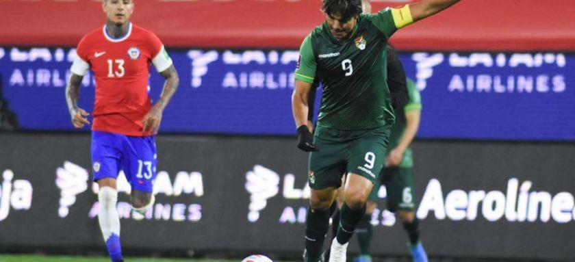 Bolivia logró un valioso empate en Chile gracias a su cerrojo defensivo y la efectividad de su máxima figura
