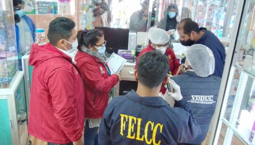 Intervienen una farmacia por sobreprecio en Remdesivir y otras infracciones