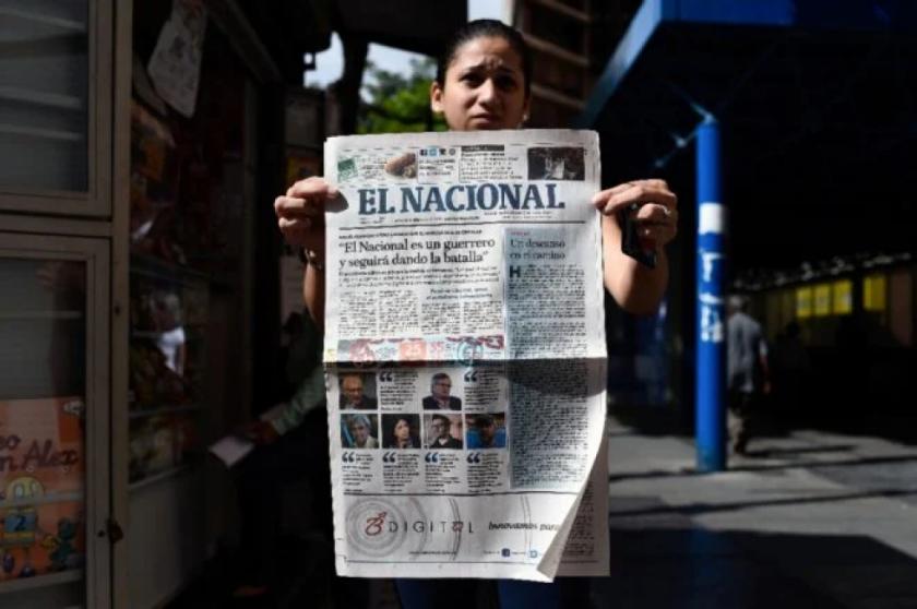 Justicia venezolana duplica indemnización millonaria contra diario crítico del chavismo