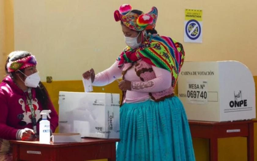 Autoridades electorales de Perú y observadores no tienen reportes de fraude
