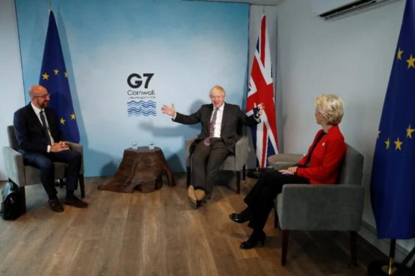 El Brexit, un jarro de agua fría sobre la pretendida unidad del G7