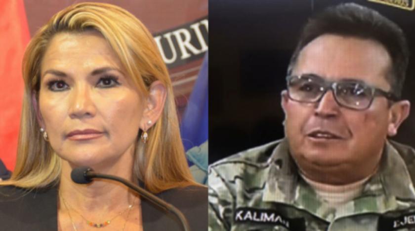"""Añez dijo que Kaliman en 2019, le respondió: """"Cuando sea presidenta va a poder darme órdenes"""""""