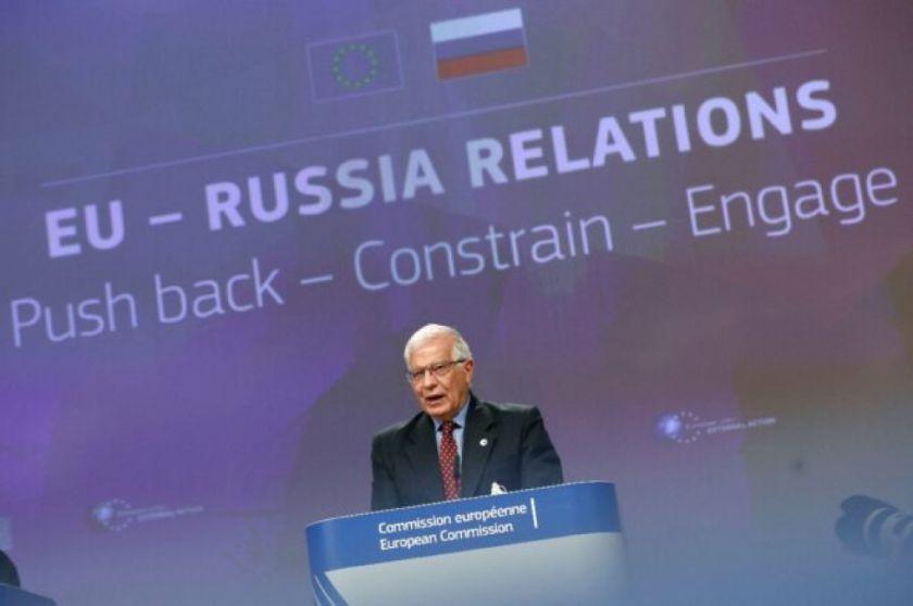 """La UE debe """"responder, contener y dialogar"""" con Rusia, dice el jefe de la diplomacia europea"""