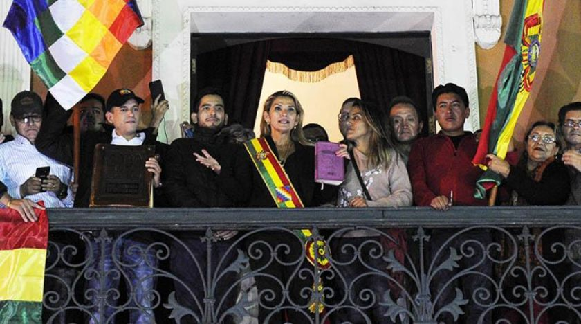El MAS anuncia dos recursos de inconstitucionalidad contra la sucesión de Jeanine Añez